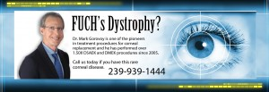Fuchs Distrophy | Dr. Mark Gorovoy | Fort Myers | Southwest Florida